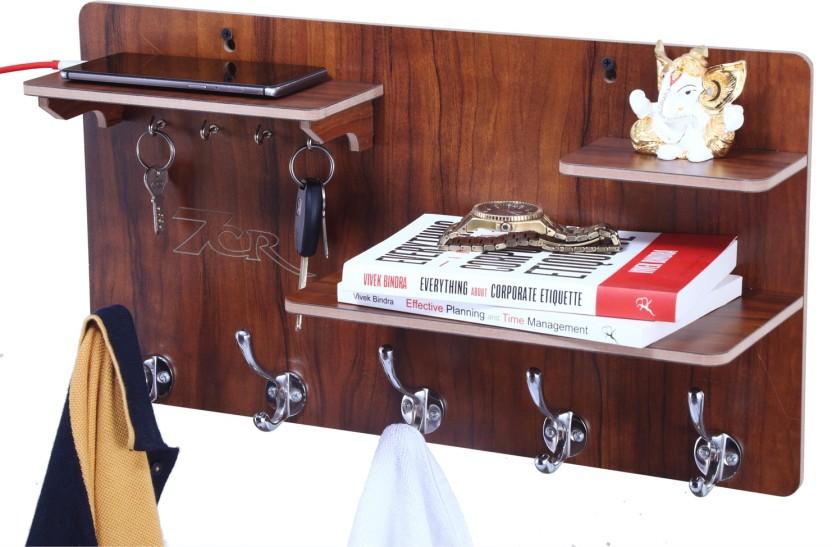 7CR KH 10 DS (WB) Wooden Wall Shelf