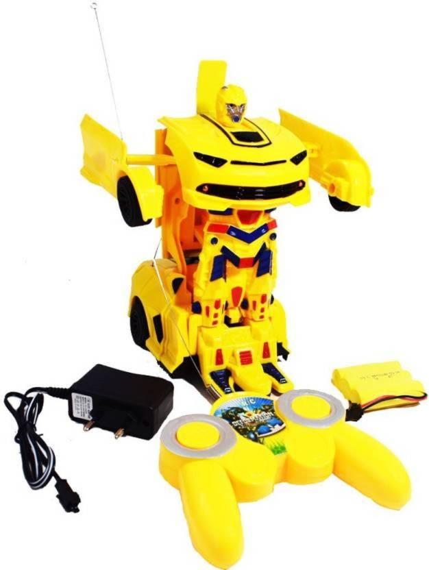 Ar Enterprises Rechargeable Remote Control Transformer Robot