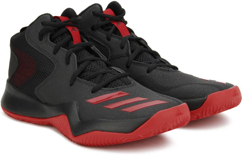separation shoes f2bbd 483ce ADIDAS CRAZY TEAM II Basketball Shoes For Men (Black)