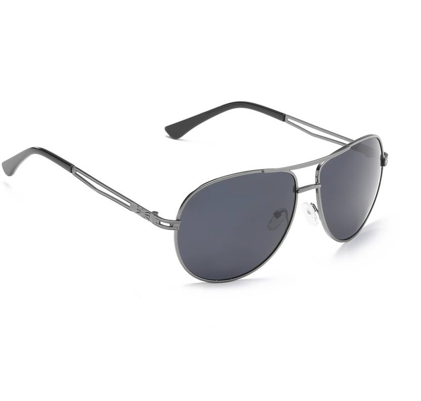 47354acc9c5 Buy Vast Aviator Sunglasses Grey For Men   Women Online   Best ...