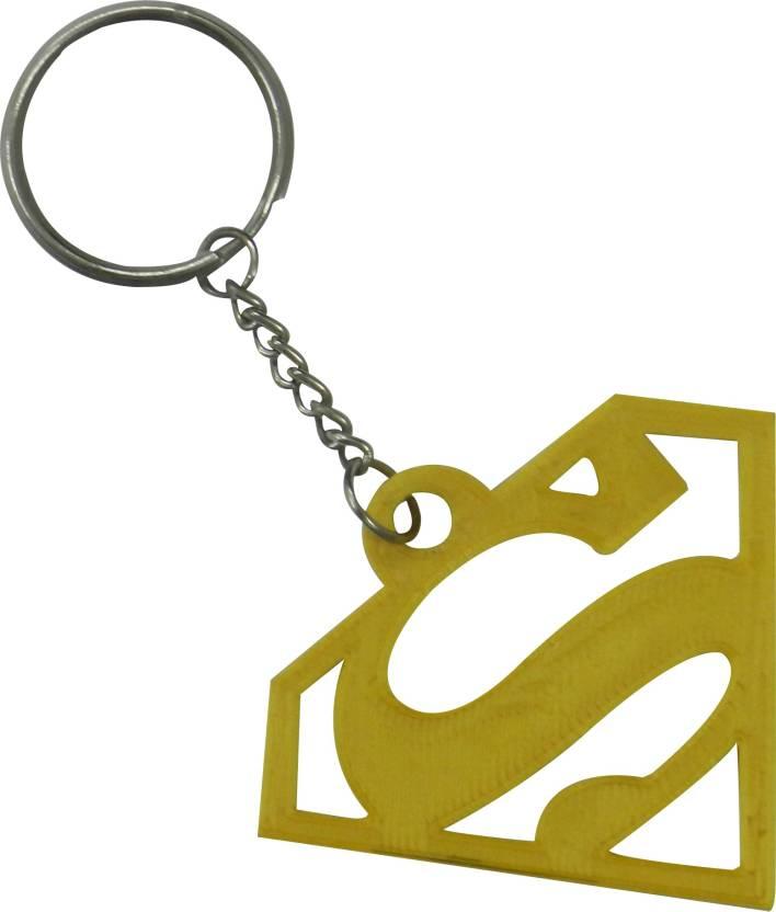 Tesseract Gold Superman Logo Keychain Key Chain Price in India - Buy  Tesseract Gold Superman Logo Keychain Key Chain online at Flipkart.com 3075d10f1