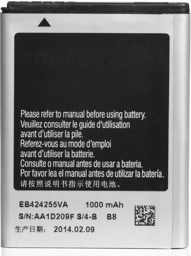 icart mobile battery for samsung champ 3 5g gt s3770 eb424255vu rh flipkart com
