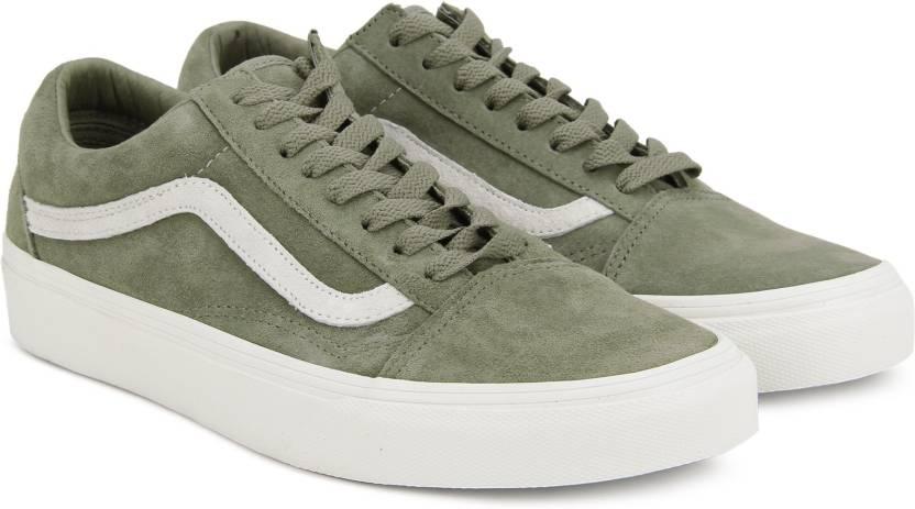 9c7fc8172fe0 Vans Old Skool Sneakers For Men - Buy (Pig Suede) fallen rock blanc ...