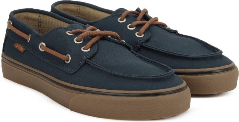 65e61aec289a0 Vans Chauffeur SF Boat Shoes For Men