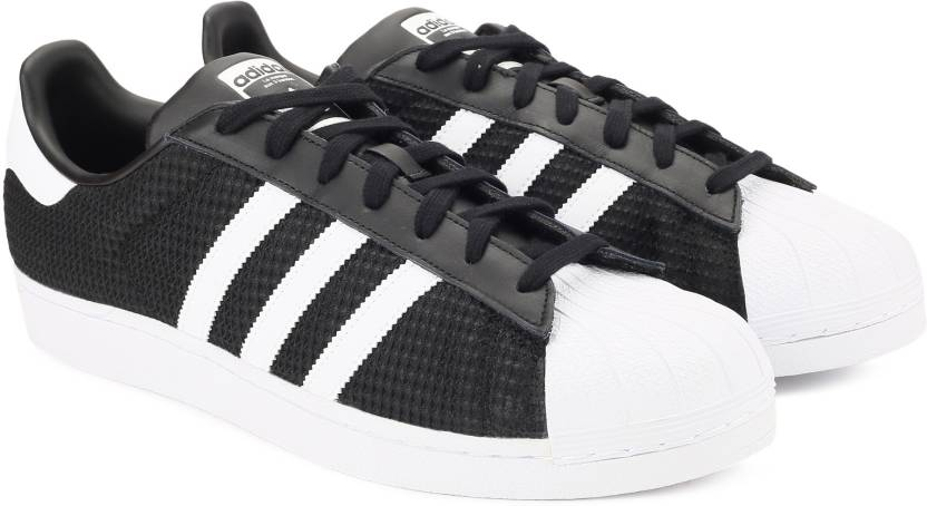 bc6e18693 ADIDAS ORIGINALS SUPERSTAR Sneakers For Men - Buy CBLACK FTWWHT ...