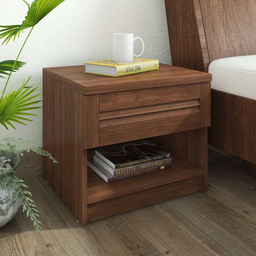 Side Table India.Hometown Bali Bolton Engineered Wood Bedside Table