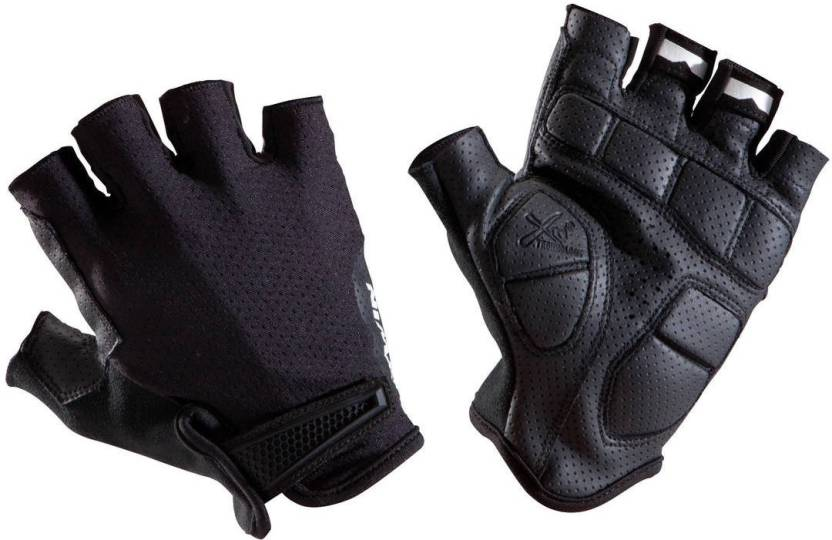 94adcf66f3a Btwin by Decathlon RoadC 900 Cycling Gloves - Black Cycling Gloves ...