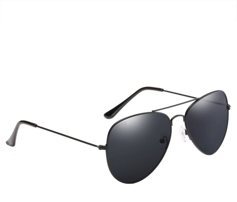 fe6936de678 Buy Azmani Aviator Sunglasses Black For Men   Women Online   Best ...