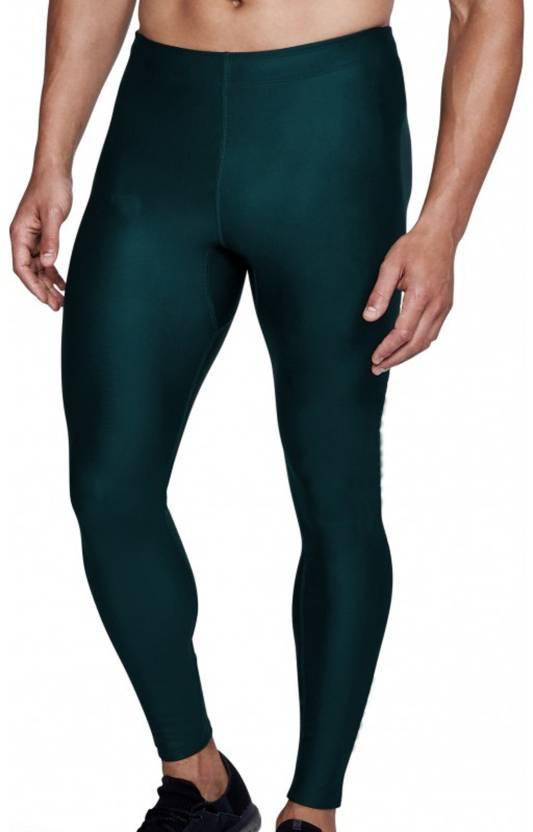 448e28b4166c7 Bloomun Solid Men Dark Green Tights - Buy Bloomun Solid Men Dark Green  Tights Online at Best Prices in India | Flipkart.com
