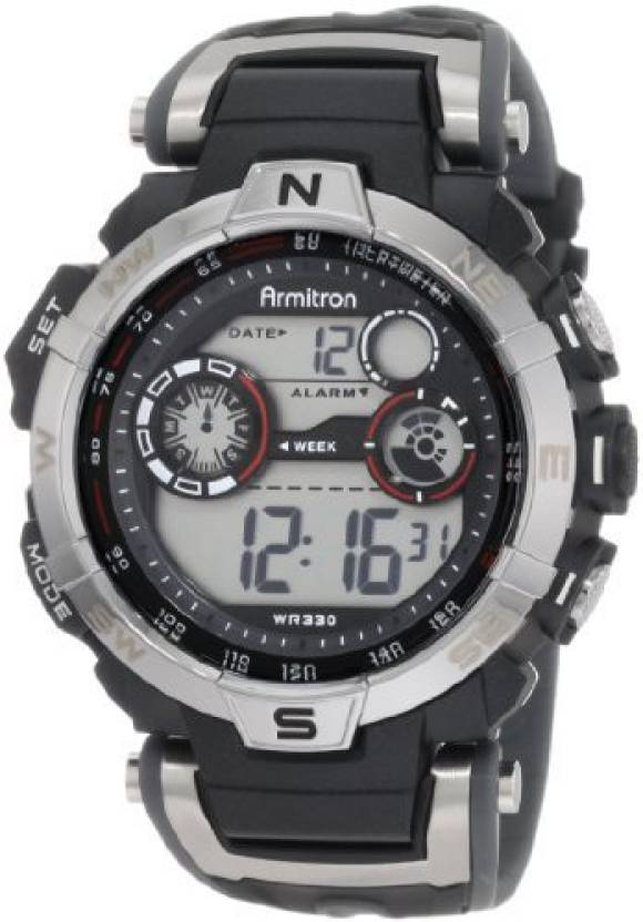 9bafbaf8d Armitron Sport Grey2454 Armitron Sport Men's 408231RDGY Digital Watch Watch  - For Men - Buy Armitron Sport Grey2454 Armitron Sport Men's 408231RDGY  Digital ...
