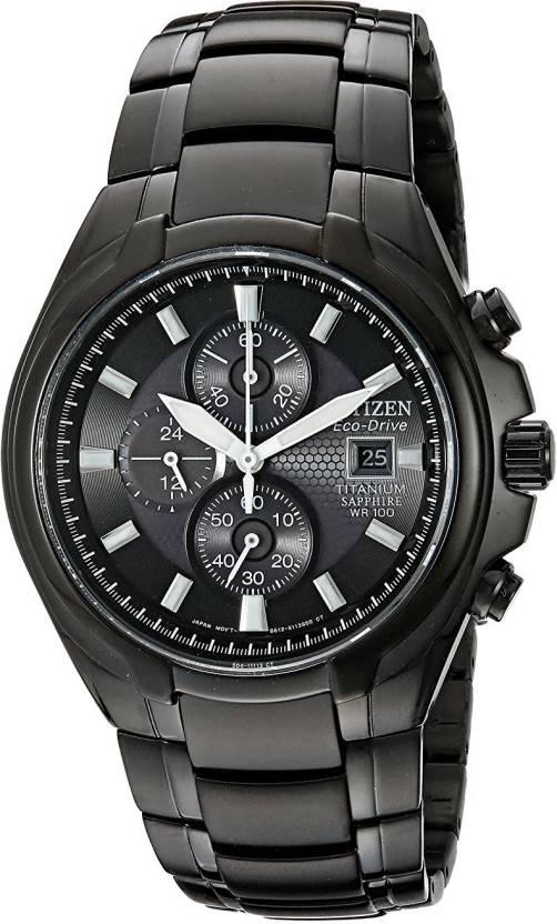 898599662 Citizen Grey 6333 Citizen Men's CA0265-59E Eco-Drive Titanium Watch Analog  Watch -