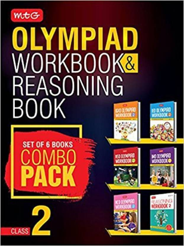 Class 2: Work Book & Reasoning Book Combo for NSO-IMO-IEO
