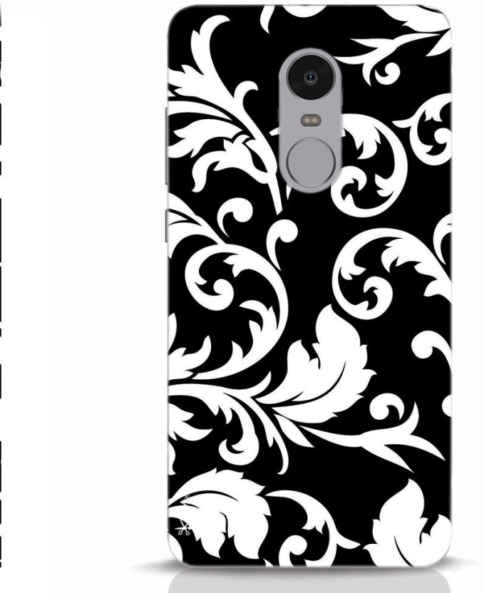 Krafter Back Cover For Krafter Redmi Note 5 Mobile Cover Free Floral