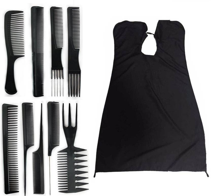 Fully Salon Barbers Hairdressing Hair Cutting Cape Sheet 9 Pcs