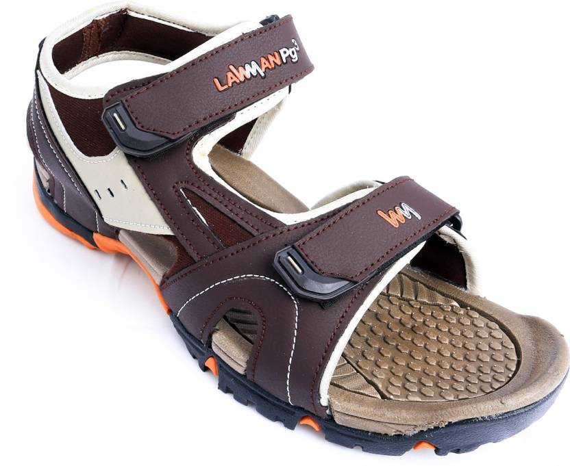 c520a5552bde LAWMAN PG3 Men Brown Sandals - Buy Brown Color LAWMAN PG3 Men Brown Sandals  Online at Best Price - Shop Online for Footwears in India