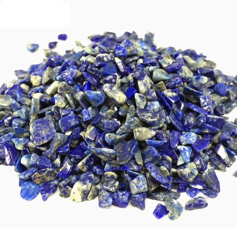 Lapis Gemstone Chip Beads 10 grams