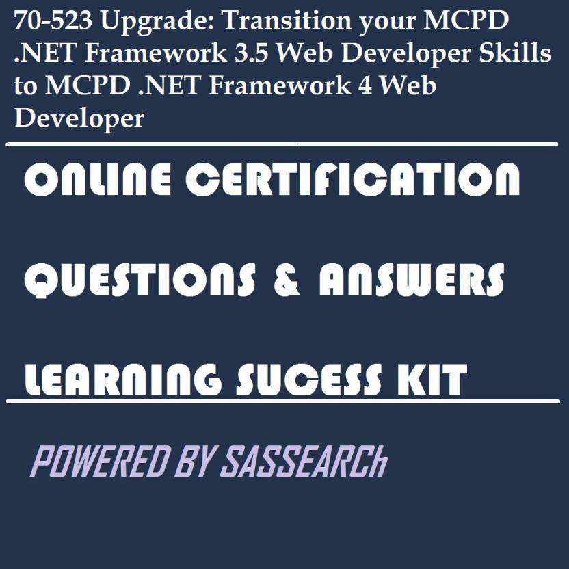 Sapsmart 70 523 Upgrade Transition Your Mcpd Framework 35 Web