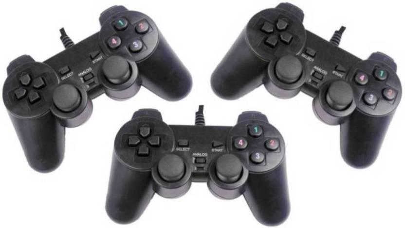 M Mod Con Pack of Three USB Gaming Controller Joystick Gamepad