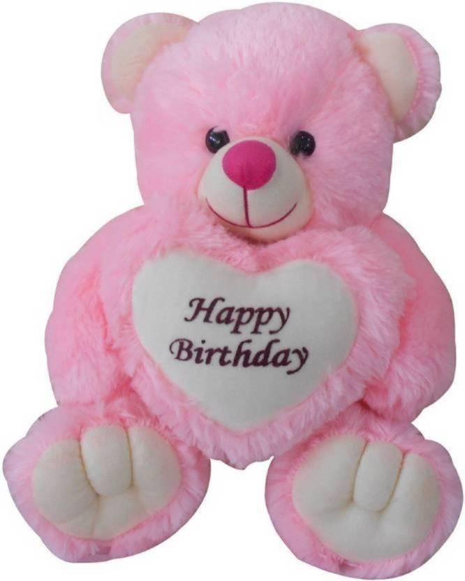 STJ SOFT TOYS Happy Birthday Teddy Bear For Baby Gift