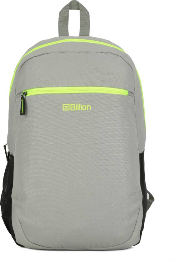 Billion HiStorage Backpack Grey - Price in India  4b40f141a7003