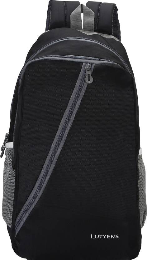 93d291591b Lutyens L-1001 Waterproof School Bag (Black