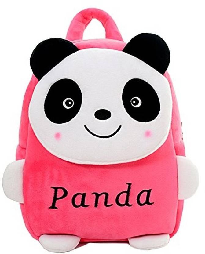 Pandora New Panda Velvet School Bag for Nursery Kids a781cae6fc6