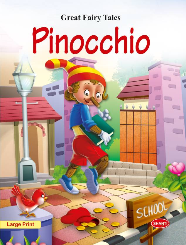 fairy tales story books for kids-Great Fairy Tales - Pinocchio : Fairy  tales for early readers