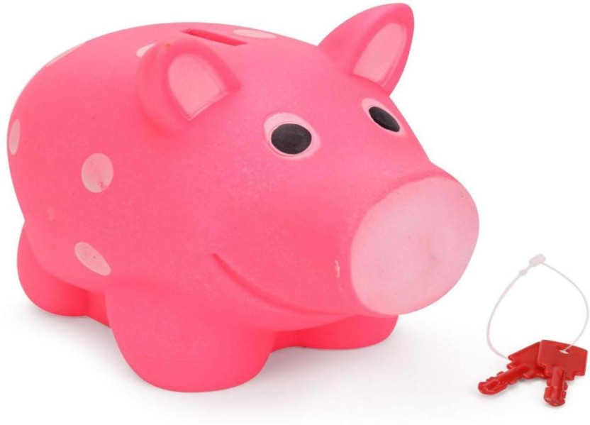 Ratnas PIGGY BANK FOR KIDS MULTICOLOUR Coin Bank