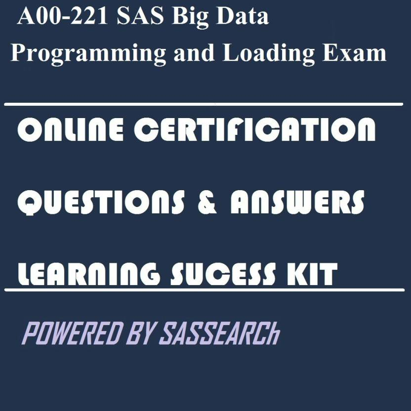sas certification questions and answers