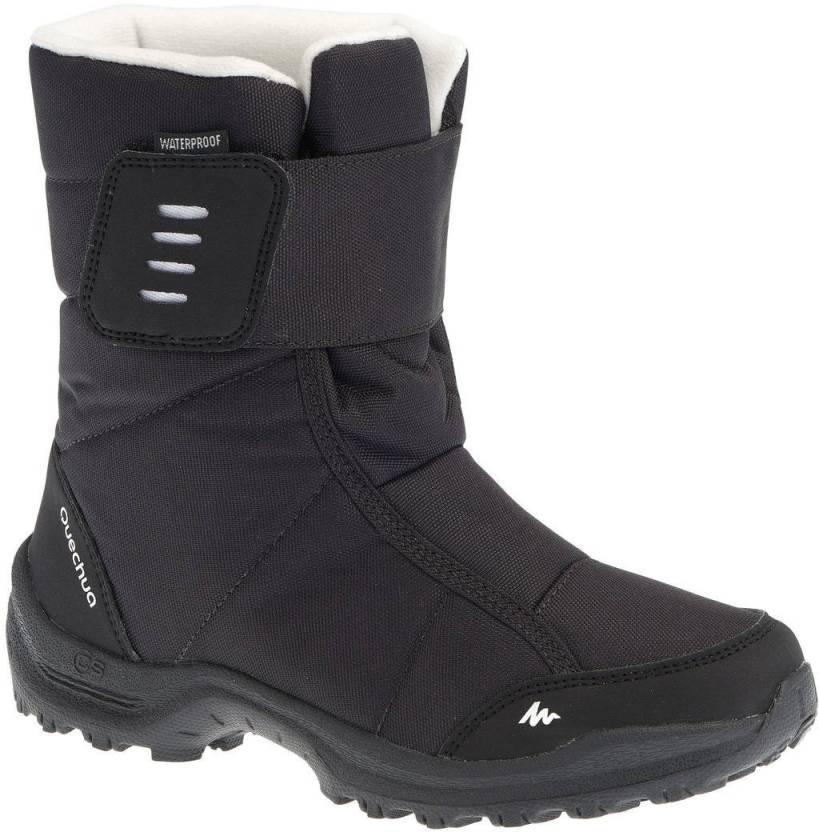46275c6fd23 Quechua by Decathlon Boys & Girls Velcro Hiking & Trekking Shoes ...