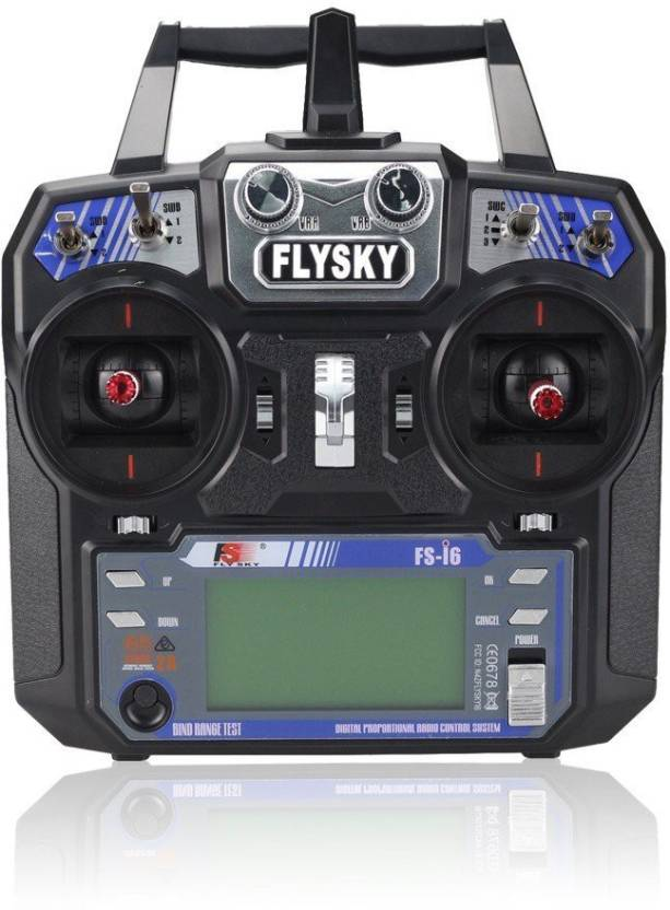 REES52 Fly Sky FS I6 2 4 G 6 Ch AFHDS RC Transmitter With FS