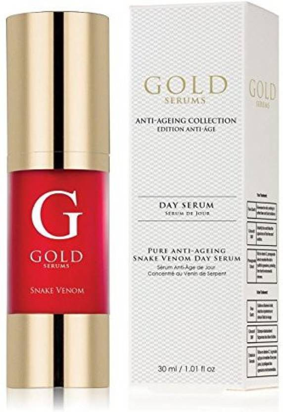 Gold Serums Pure Antiaging Snake Venom Day Serum - Price in India