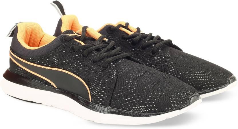 Puma Flex Camo Mesh IDP Running Shoes For Men - Buy Puma Black-Gray ... 4b9eddddf