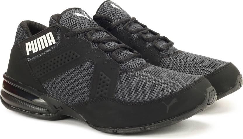 Puma Enzin Mesh Running Shoes For Men - Buy Puma Black-Puma White ... c049896c0
