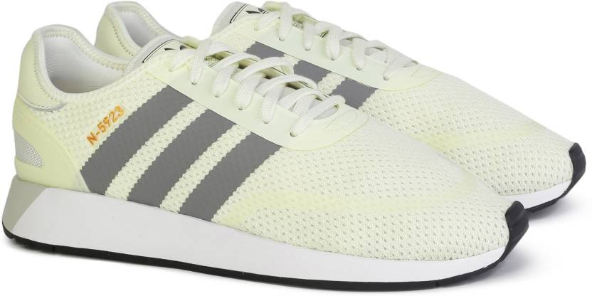 timeless design 55e7a 0d1a7 ADIDAS ORIGINALS N-5923 Sneakers For Men (Yellow, White)