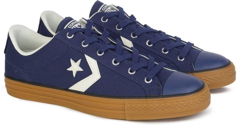 0c0c6386d5c8 Converse Star Player Sneakers For Men - Buy NAVY EGRET HONEY Color ...