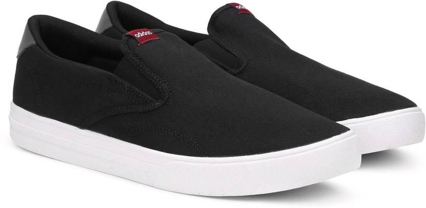 separation shoes e3d20 f70a4 ADIDAS VS SET SO Slip On Sneakers For Men (Black)