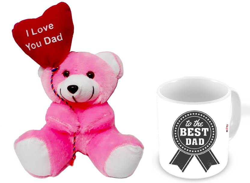 MEYOU Gifts For Father Birthday Anniversary Fathers Day Gift Set Mug Teddy IZ18NJPTM 1785 Soft Toy Price In India