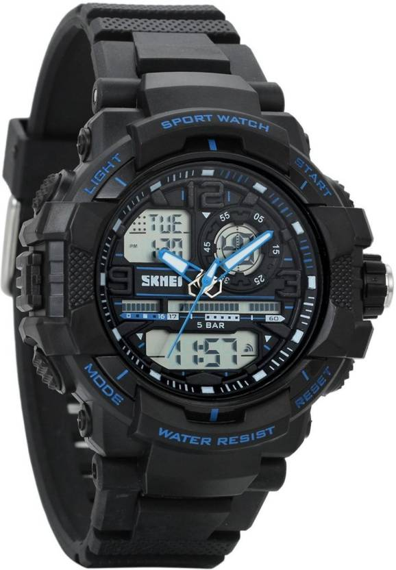 92af6eee6 New Brand Mall Blue25191 Kids Digital Sport Watch - Outdoor Waterproof Watch  with Alarm for Boys, Wrist Watches with Timer Watch - For Boys & Girls -  Buy ...