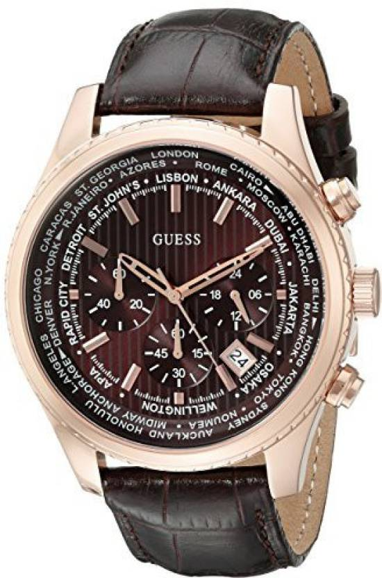 dc26f754049 Guess Brown17232 GUESS Men s U0500G3 Luscious Brown Chronograph Watch with Date  Function Watch - For Men - Buy Guess Brown17232 GUESS Men s U0500G3  Luscious ...