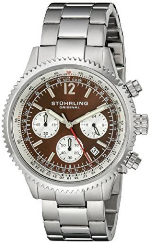 Stuhrling Original Brown13266 Stuhrling Original Men S 669b 03