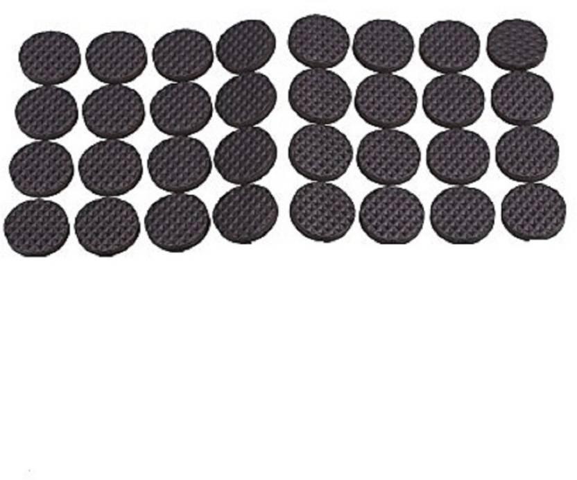 Iktu Self Adhesive Round Felt Pads Non Skid Floor Protector