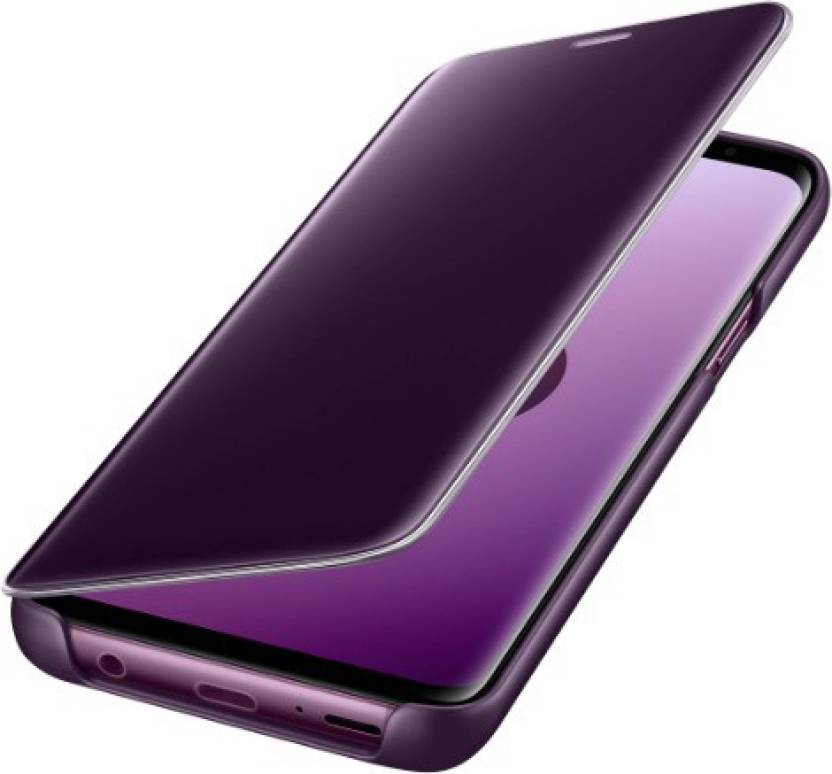 brand new 72e9d abee7 Midkart Flip Cover for Samsung Galaxy S9 Plus Lilac Purple Touch ...