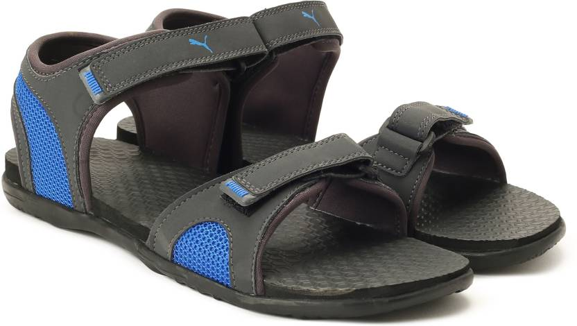 Puma Men Asphalt-Sargasso Sea-Electric Blue Lemonade Sports Sandals - Buy  Asphalt-Sargasso Sea-Electric Blue Lemonade Color Puma Men Asphalt-Sargasso  ... 8d53258e8