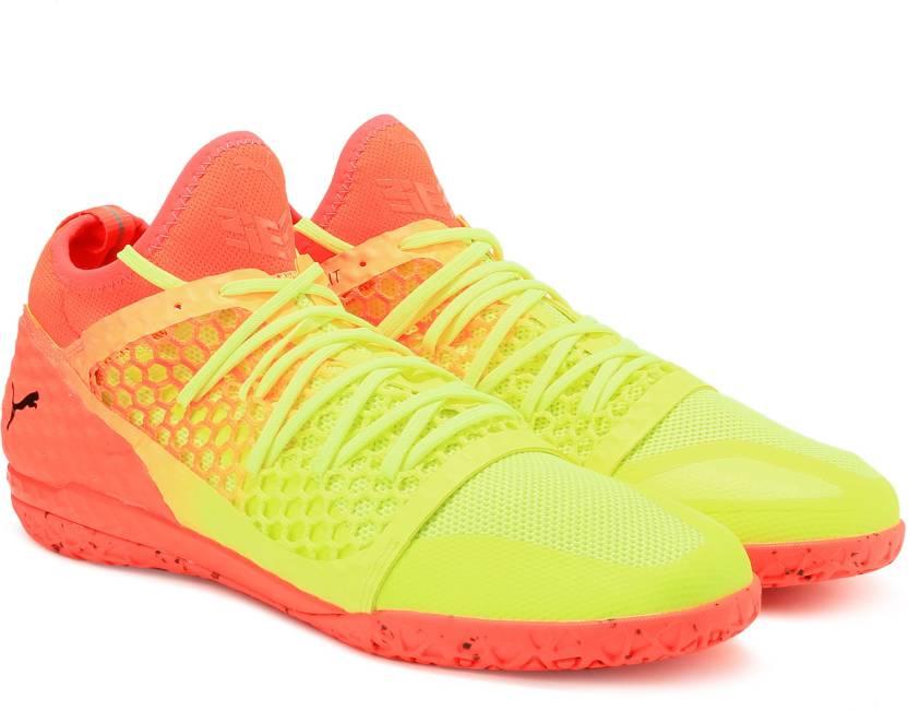 031e36cbf38 Puma 365 IGNITE NETFIT CT Football Shoes For Men - Buy Fizzy Yellow ...