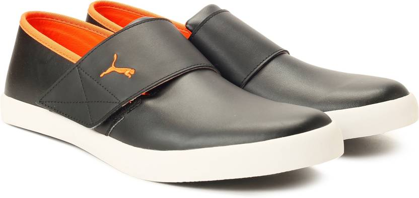 1b0054140d1f2e Puma El Rey Milano III IDP Slip on Sneakers For Men - Buy Puma Black ...