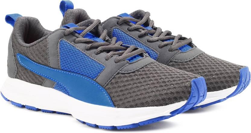 best website 0ceac 021ab Puma Deng IDP Running Shoe For Men (Blue, Grey)