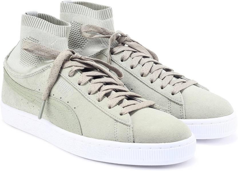 dbc0effb Puma Suede Classic Sock Sneakers For Men - Buy Rock Ridge Color Puma ...