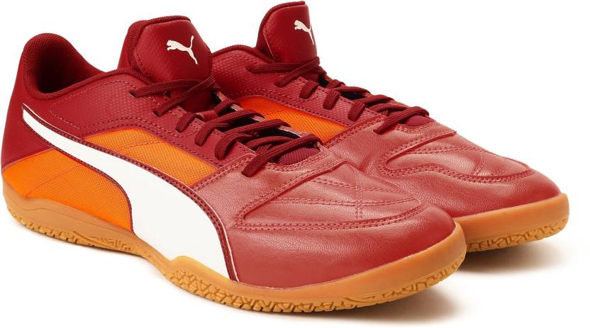 c27a4f3e4bd Puma Gavetto II Badminton shoes For Men - Buy Red Blast-Puma White ...
