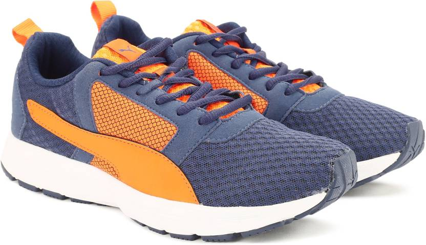 Puma Deng IDP Running Shoes For Men - Buy Blue Indigo-Vermillion ... 194857c4ff91